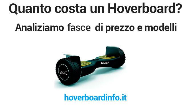 Quanto costa un hoverboard usato o nuovo