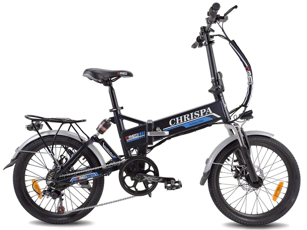 Bicicletta Elettrica Pieghevole a Pedalata Assistita Chrispa 2.0