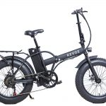 Bicicletta elettrica pieghevole Dirt VTC Revoe
