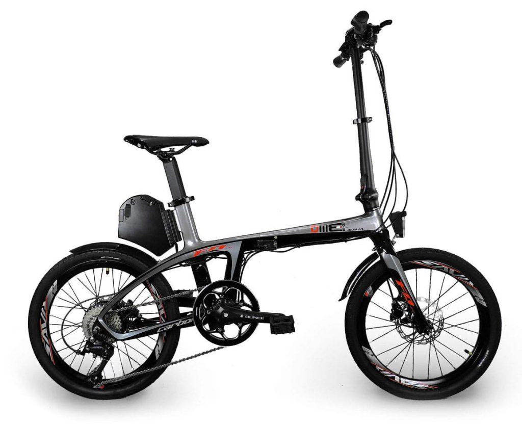 Bicicletta elettrica Carbon Bike Suxive DME