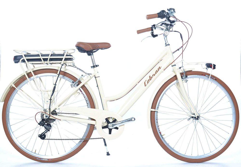 Cobran retrò 2.0: bicicletta elettrica da donna