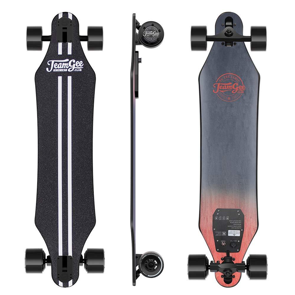 Skateboard Elettrico Longboard con Telecomando Teamgee