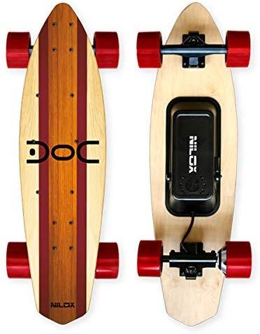 Skateboard Elettrico con telecomando Nilox Doc Cruiser