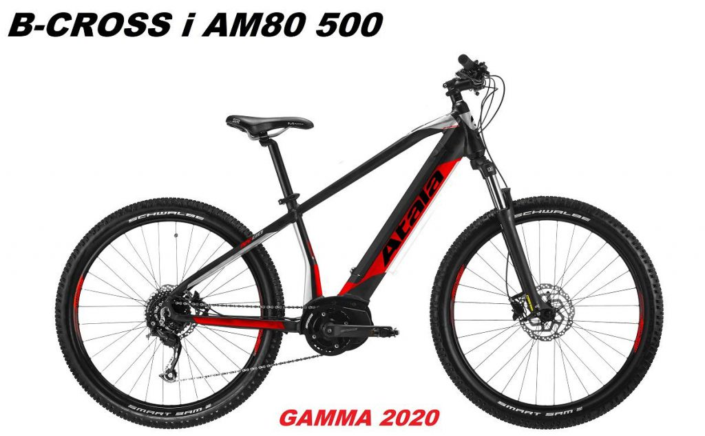 Bicicletta Elettrica Atala B-CROSS 500 AM80 gamma 2020