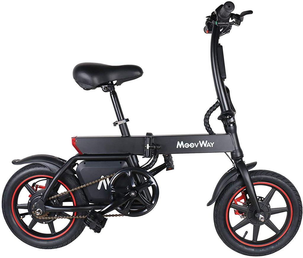 Bicicletta elettrica pieghevole MoovWay
