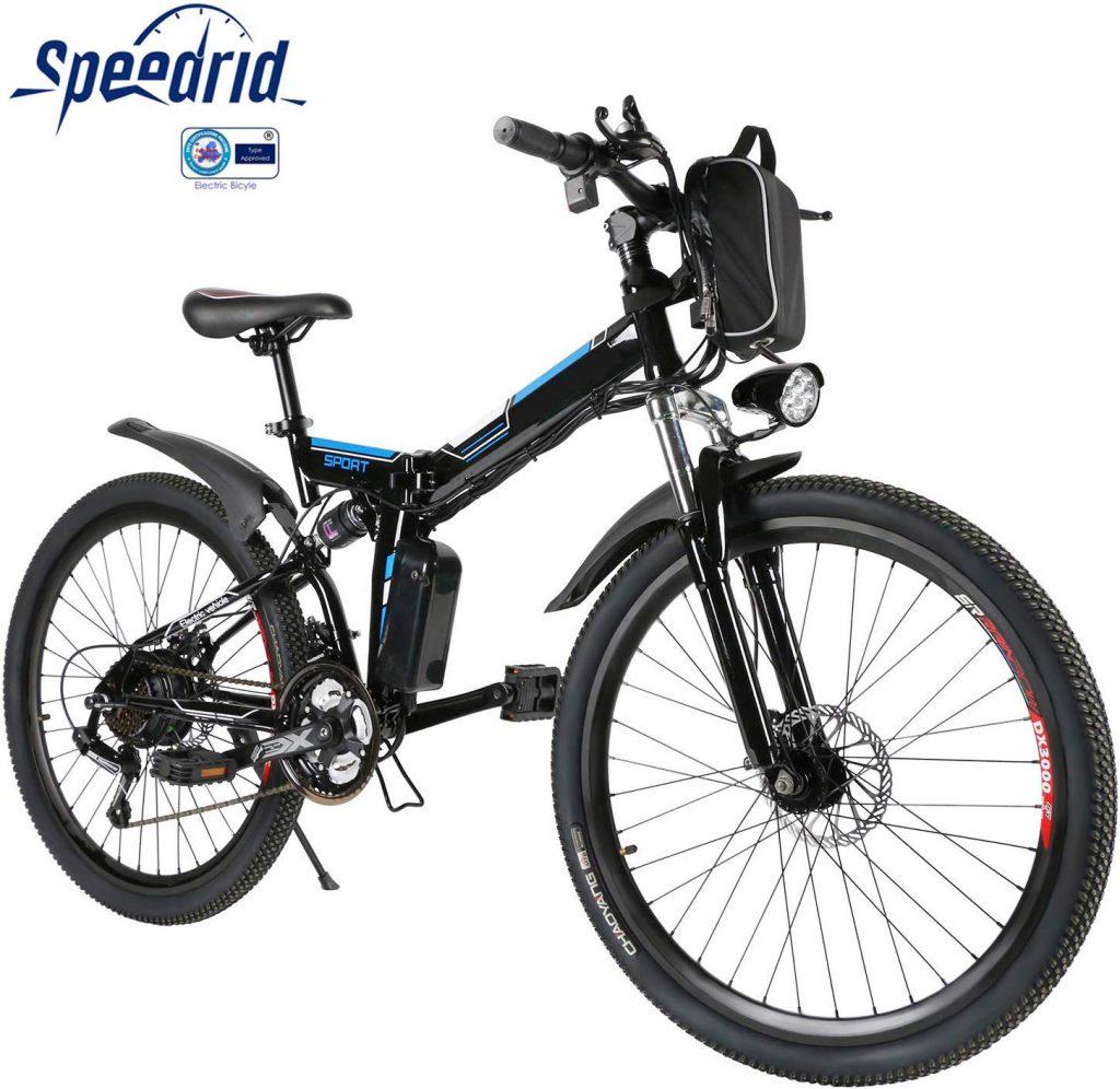 Bicicletta elettrica pieghevole Speedrid 26 pollici