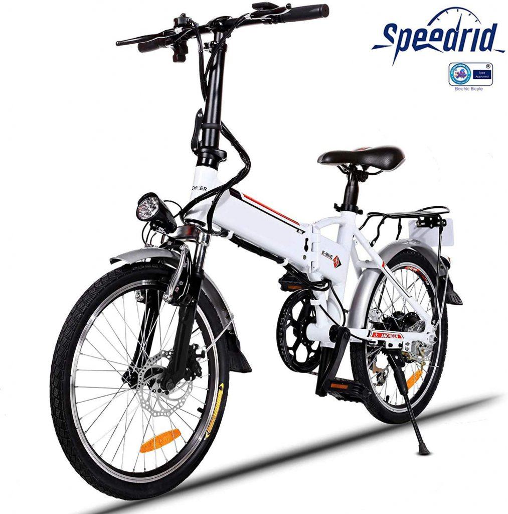 Bicicletta elettrica pieghevole Speedrid 20 pollici