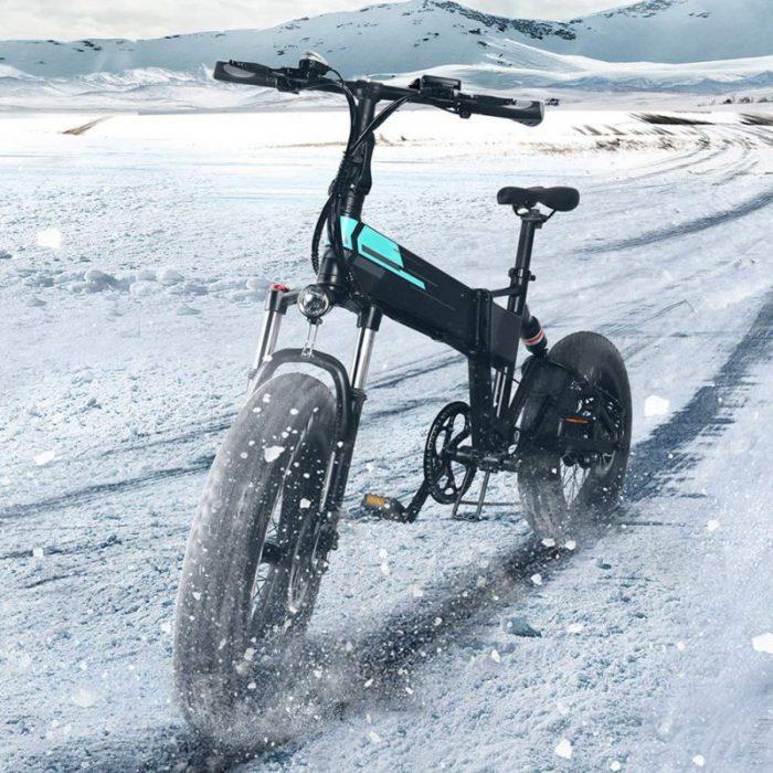 Bicicletta elettrica pieghevole FIIDO M1